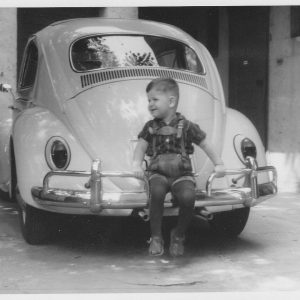 Ralf Stegner als Kind
